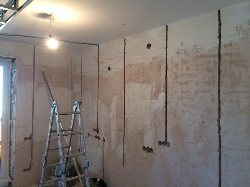 Штробление стен бетон купить сверло по бетону для перфоратора на 25